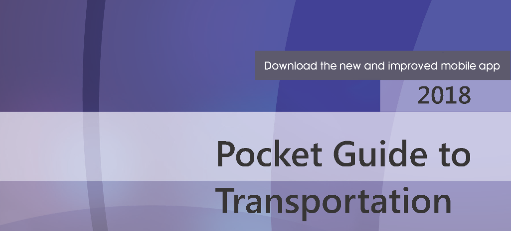 The cover image of the 2018 Pocket Guide